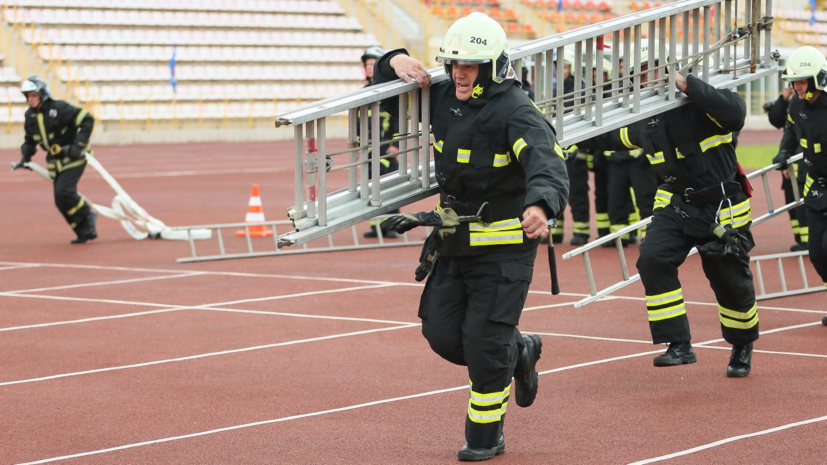 Начались учения добровольцев Всероссийского студенческого корпуса спасателей