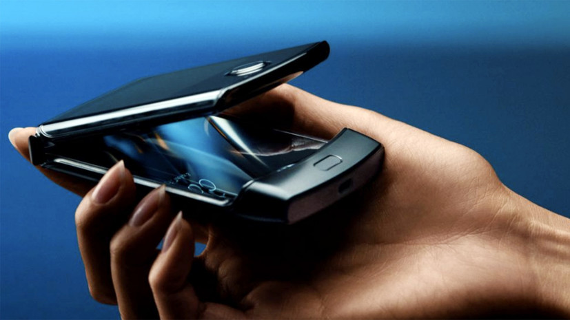 Эксперт прокомментировал новую модель складного смартфона компании Motorola