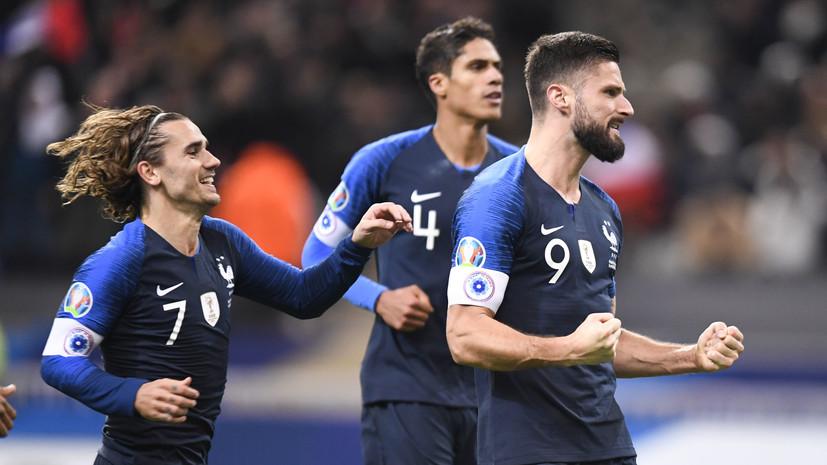 Определились десять участников футбольного Евро-2020