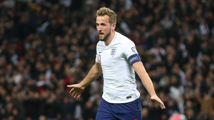 Кейн установил несколько рекордов сборной Англии по футболу, оформив хет-трик в матче с Черногорией