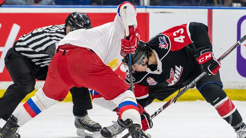 Молодёжная сборная России по хоккею проиграла Канаде в Суперсерии-2019