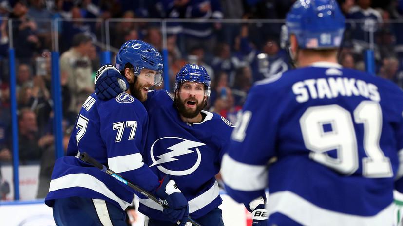 Четыре очка Кучерова помогли «Тампе» разгромить «Рейнджерс» в НХЛ