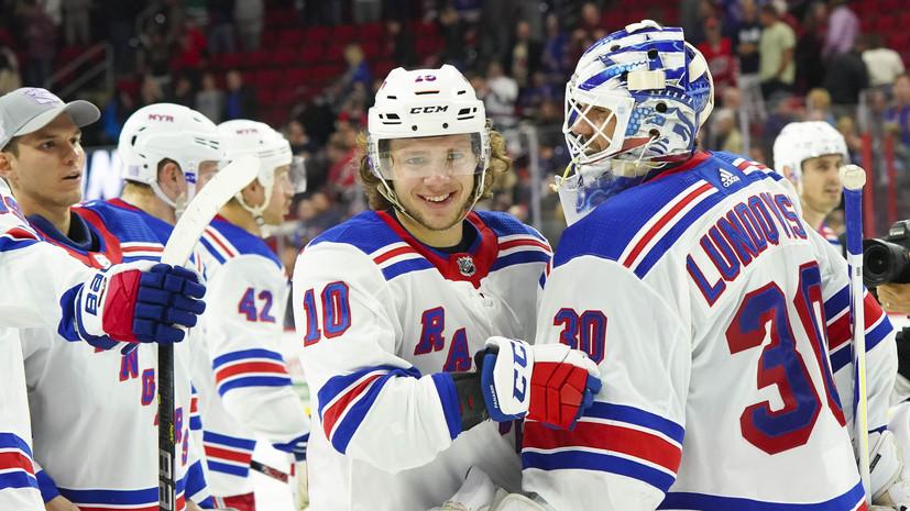 Панарин установил личный рекорд по результативной серии в НХЛ