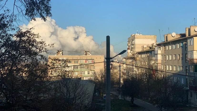 На Украине исключили продолжение взрывов на арсенале в Балаклее