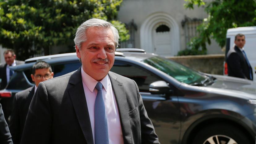 Избранный президент Аргентины не намерен вести диалог сновымлидером Боливии