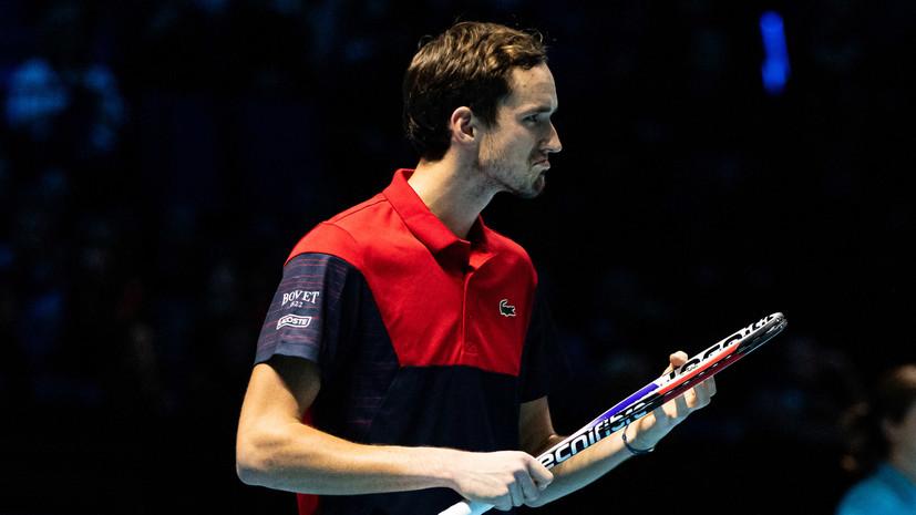 Тарпищев отреагировал на третье поражение Медведева на Итоговом турнире ATP