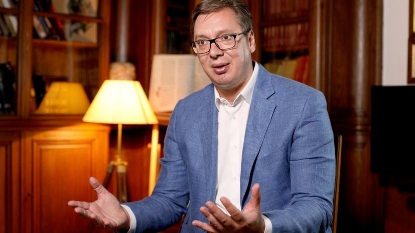 В администрации президента Сербии рассказали о состоянии Вучича