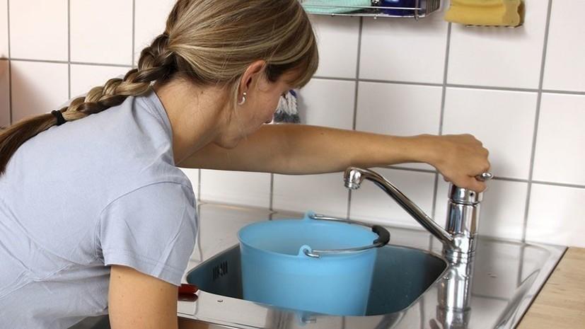 В Благовещенске возникли проблемы с водоснабжением
