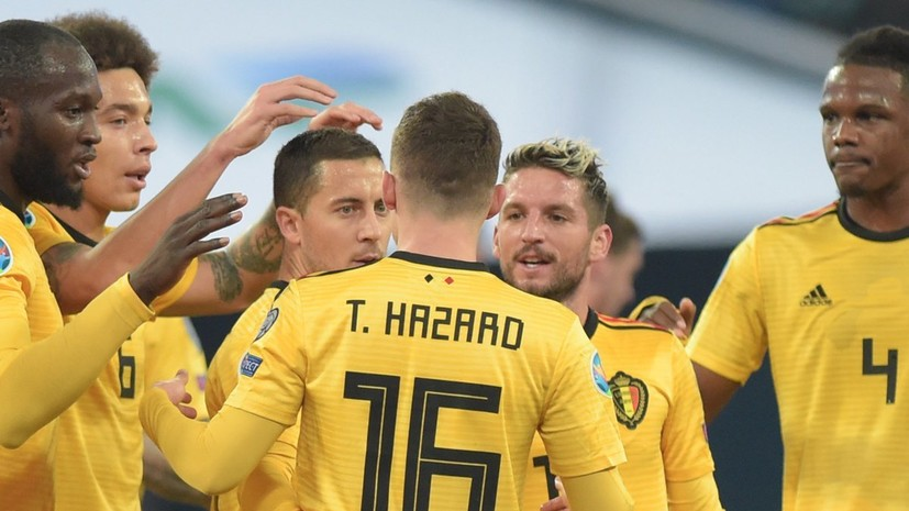 Мартинес заявил, что матч с Россией стал для Бельгии хорошим тестом