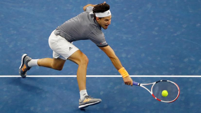 Тим обыграл Зверева и вышел в финал Итогового чемпионата ATP