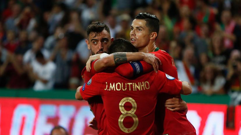 Гол Роналду помог Португалии обыграть Люксембург и выйти на Евро-2020