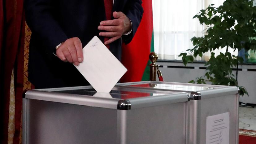 В Белоруссии завершилось голосование на парламентских выборах
