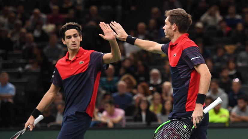 Эрбер и Маю победили на Итоговом турнире ATP в парном разряде