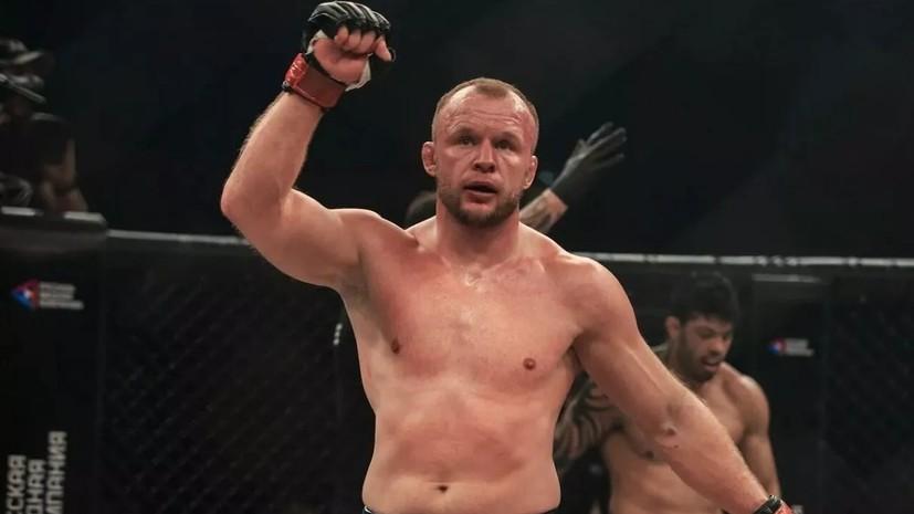 Шлеменко заявил, что ведёт переговоры с UFC
