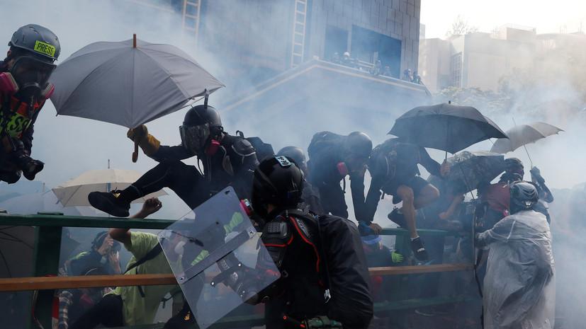 Школы Гонконга останутся закрытыми 19 ноября из-за беспорядков