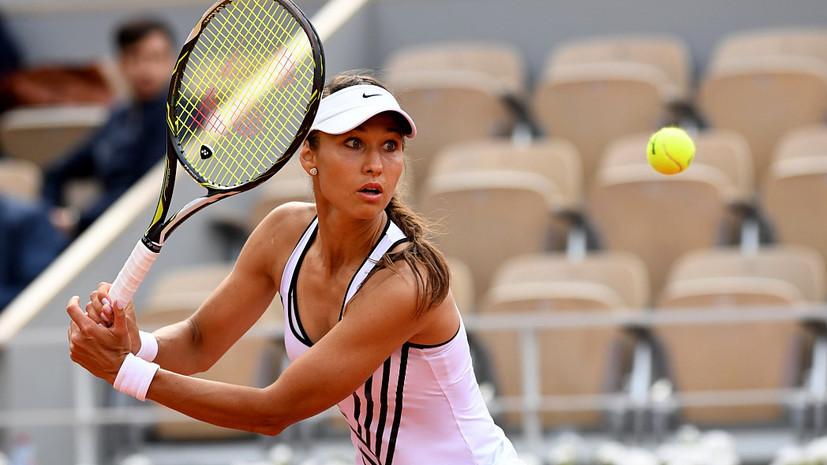 Россиянка Дьяченко вошла в топ-100 рейтинга WTA