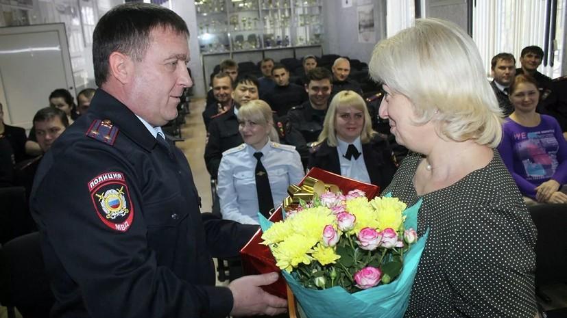В Ставропольском крае наградили защитившую детей от мужчины с ножом учительницу