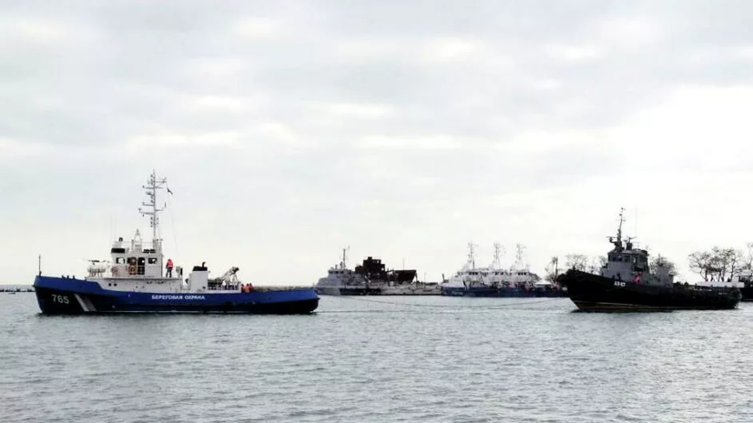 В Совфеде прокомментировали передачу Украине задержанных кораблей