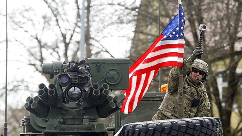 США намерены в десять раз увеличить численность войск в Польше
