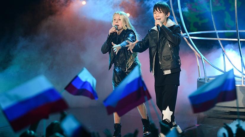 Отказ от холодного и репетиции вместо школы: о чём рассказали участники Детского Евровидения от России перед конкурсом