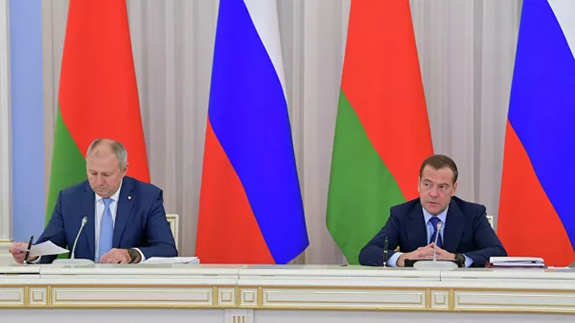 Переговоры России и Белоруссии продолжаются более пяти часов