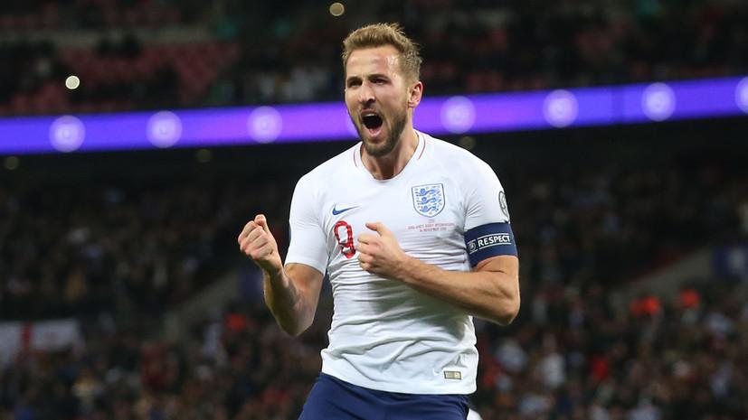 Англичанин Кейн стал лучшим бомбардиром квалификации Евро-2020