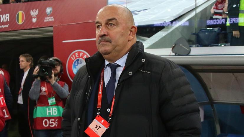 Черчесов оценил игру сборной России в матче квалификации Евро-2020 с Сан-Марино