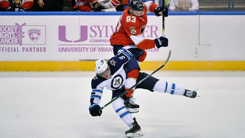Два очка Дадонова помогли «Флориде» победить «Филадельфию» в НХЛ
