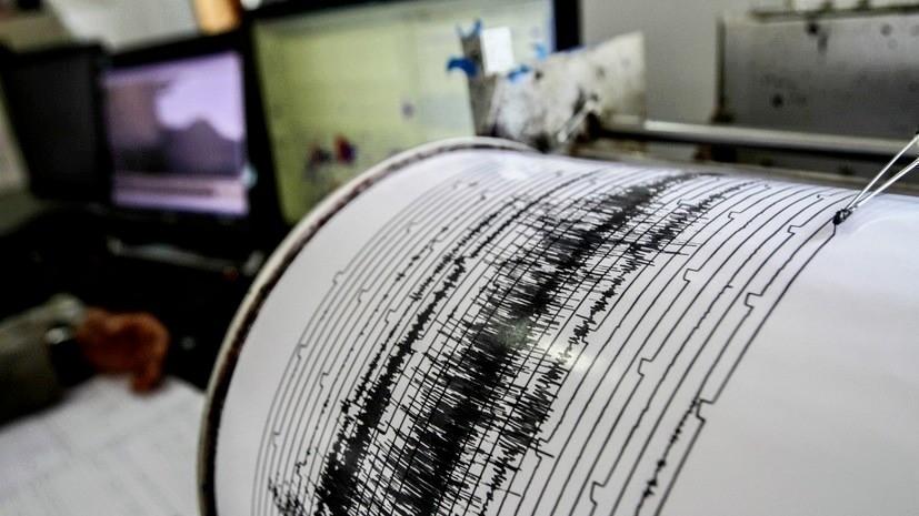 В Охотском море зафиксировали землетрясение магнитудой 6,3