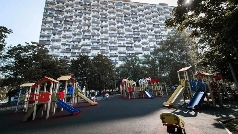 Россияне оценили реализацию программ по благоустройству дворов