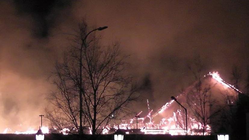 Пожар в посёлке Мосрентген в Новой Москве ликвидирован
