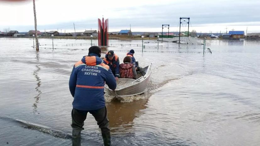 В Кремле оценили ситуацию с оказанием помощи пострадавшим от паводка