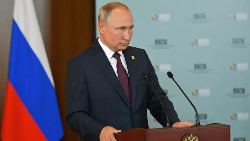 Путин обратил внимание на попытки милитаризации космоса