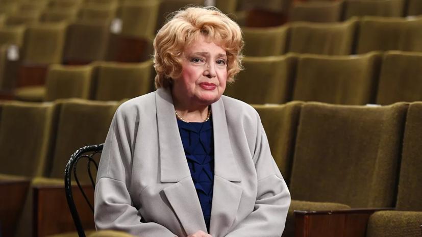 Доронина призвала Путина вмешаться в ситуацию в МХАТе имени Горького