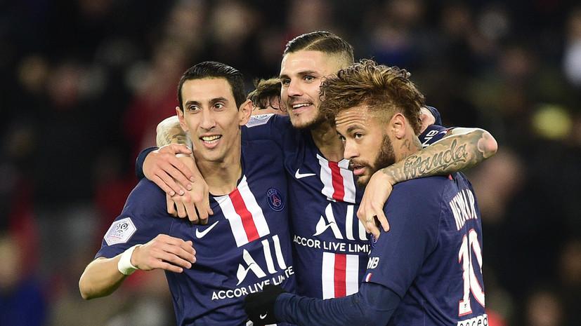 Мяч Икарди помог ПСЖ победить «Лилль» в чемпионате Франции по футболу