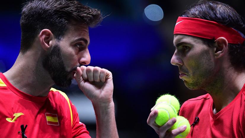 Испания и Великобритания вышли в полуфинал Кубка Дэвиса