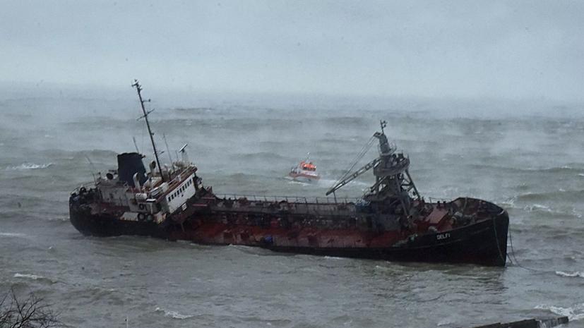 Концентрация нефтепродуктов в воде в Одесском заливе в 90 раз выше нормы