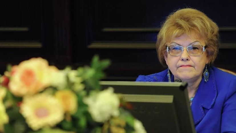 В РАО назвали невосполнимой утратой смерть Вербицкой