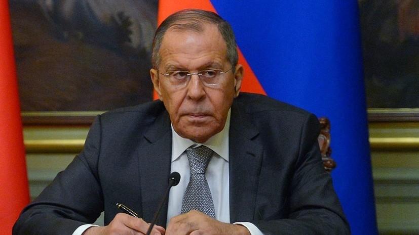 Лавров прокомментировал рекомендации WADA об отстранении России