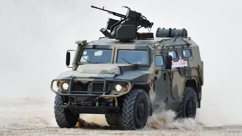 «Конструктивно ближе к бронетранспортёру»: на что способен российский армейский автомобиль «Тигр-М»
