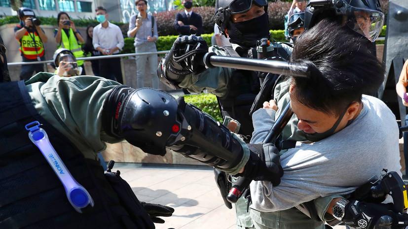 МИД Китая вызвал посла США в Пекине из-за закона по Гонконгу