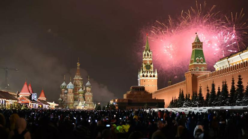 В Москве рассказали о площадках для запуска новогодних фейерверков