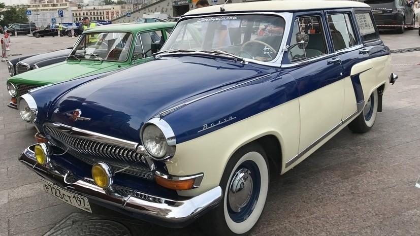 Росстандарт утвердил ГОСТ для старинных автомобилей