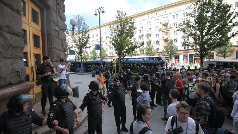 Фигурант дела о беспорядках 27 июля объяснил своё поведение на акции