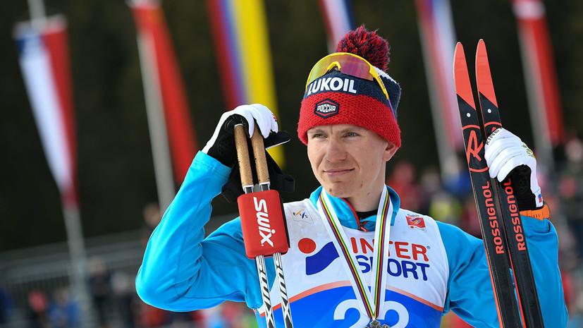 Большунов и Семиков квалифицировались в полуфинал спринта на этапе КМ в Руке