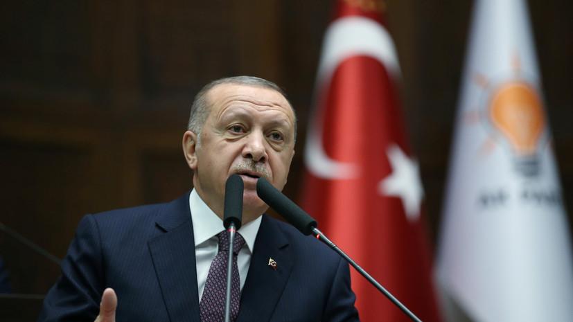 Эрдоган предложил Макрону «проверить мозг»