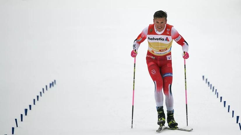 Норвежский лыжник Клебо установил рекорд КМ по победам в спринте