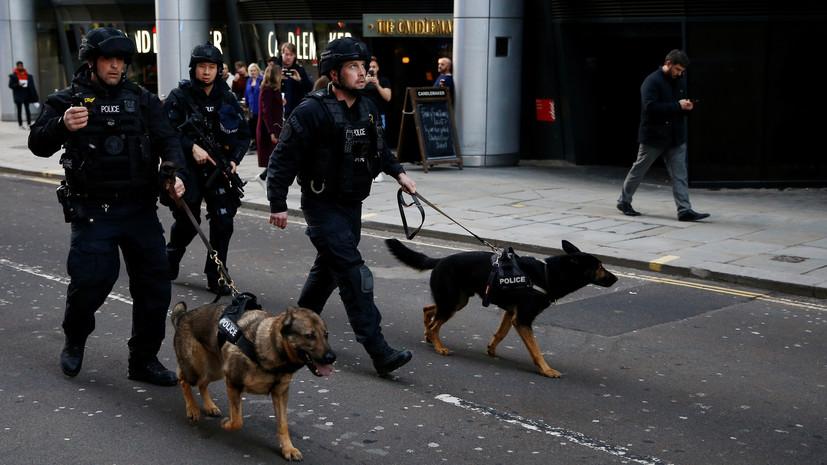 Скотленд-Ярд признал терактом инцидент на Лондонском мосту