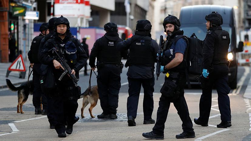 «Инцидент объявлен терактом»: что известно о нападении с ножом на Лондонском мосту