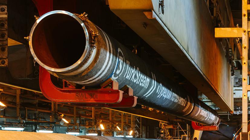 Эрдоган назвал дату запуска газопровода «Турецкий поток»